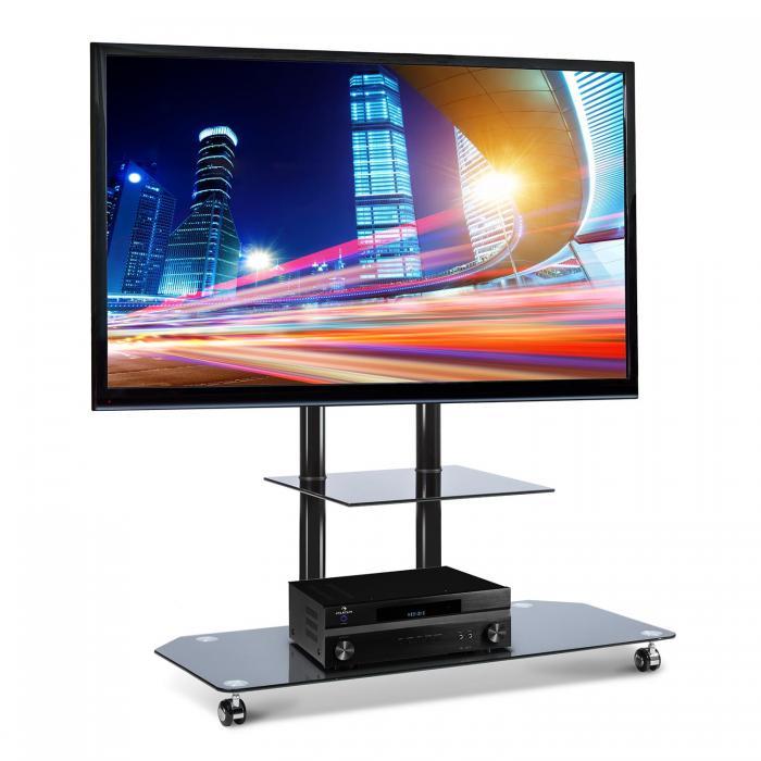 7687b1912 Tip na produkt: Electronic Star LUA-FAVS17B, TV podstavec s držiakom zo  skla a z hliníka