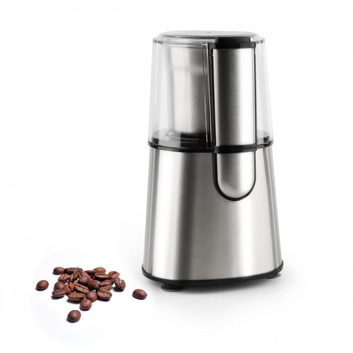 Speedpresso, strieborný, mlynček na kávu, 200 W
