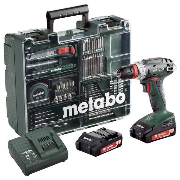 1. Metabo VS 18 Quick MD 2x2,0Ah