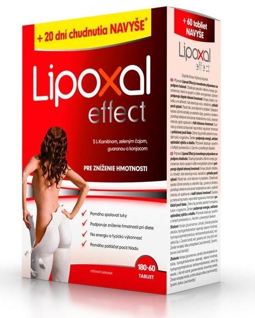 lipoxal-tablety