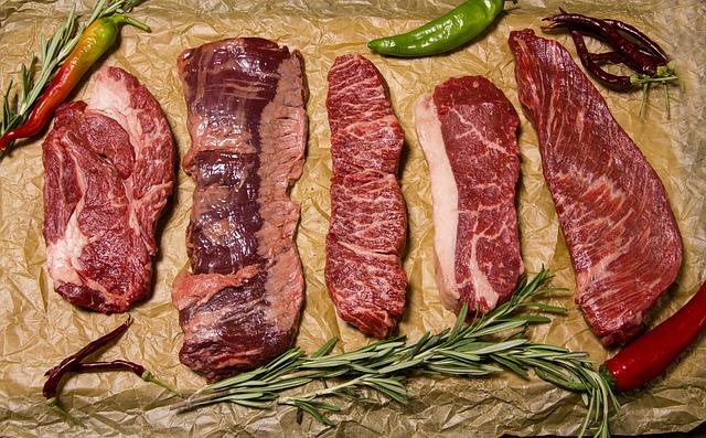 hovädzina proteíny