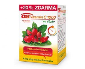GS Vitamín C 1000 + šípky