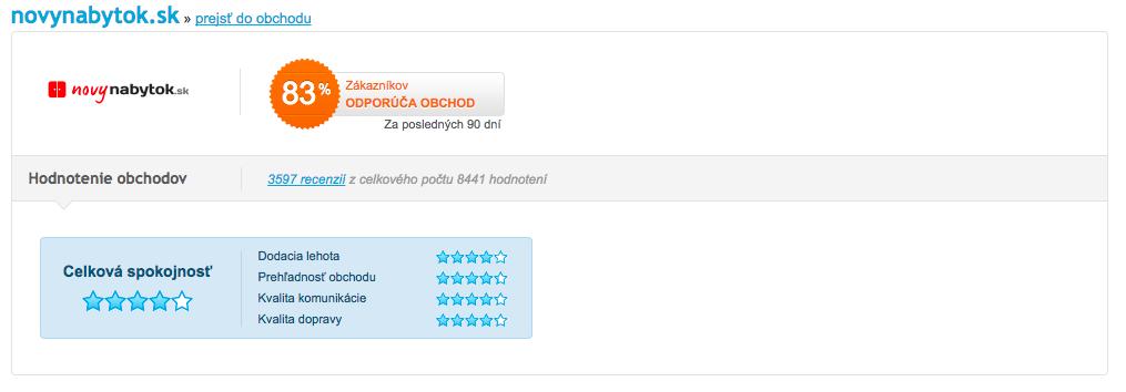 novýnabytok.sk hodnotenie