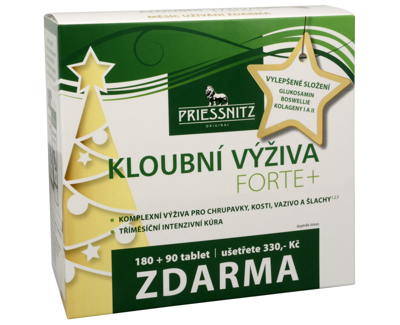 Priessnitz kĺbová výživa Forte + kolagény