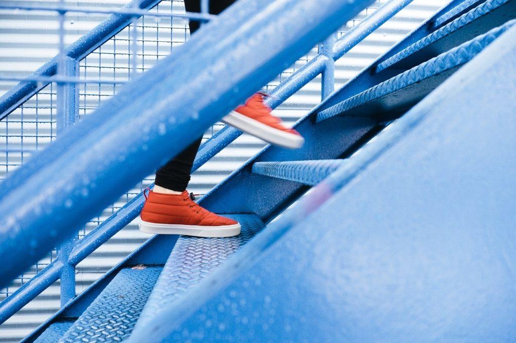 fitness schody