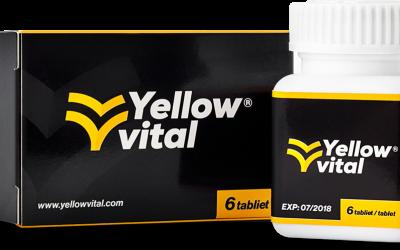 Yellow vital: Sľubuje zlepšenie mužského zdravia