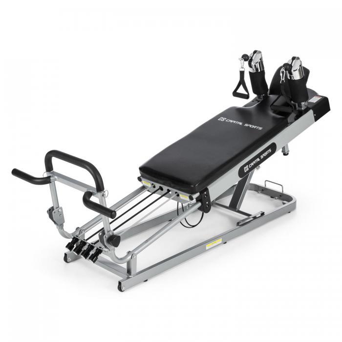 Pilato Pilates Reformer lavička na pilates max. 120kg