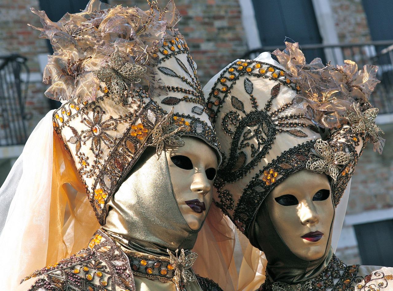 Masky na karneval: Preniknite do sveta fantázie