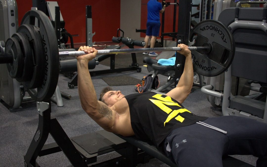 Posilňovacia lavica ideálna na hornú časť tela