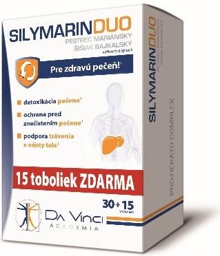 Da Vinci Academia Silymarin Duo 45 tbl.