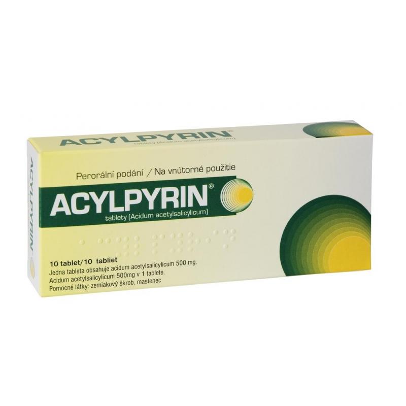 Acylpyrín – známy liek so známymi účinkami