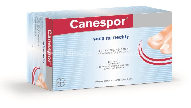 Canespor sada na nechty – zbavte sa mykózy nechtov