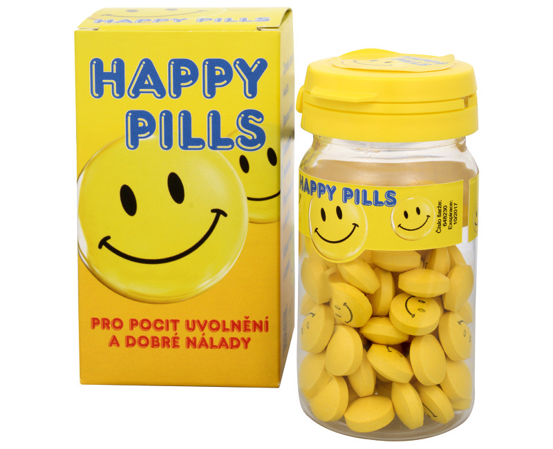 Happy pills – pilulky veselej nálady