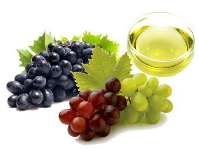 hroznovy olej