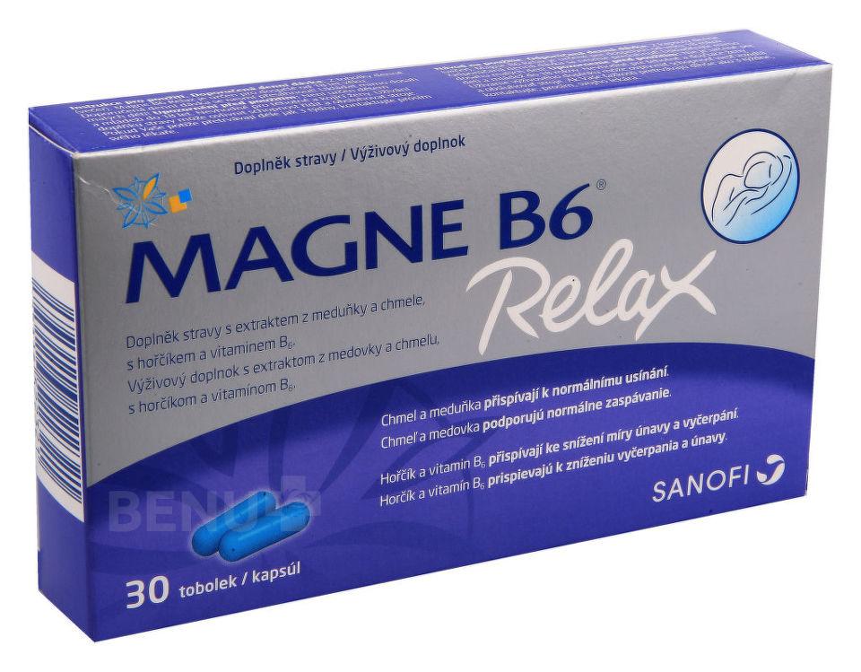 b442dbffaeb2 Magne B6 Relax - Pomocník v boji proti stresu a vyčerpanosti!