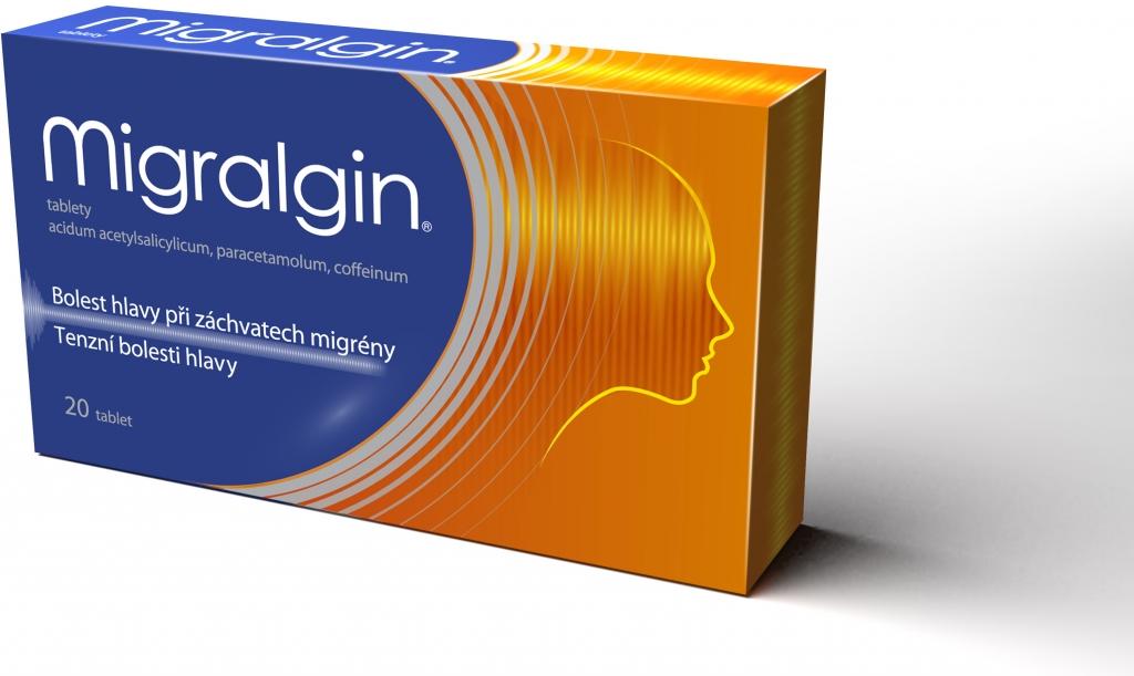 Migralgin – bolesť hlavy hoďte za hlavu