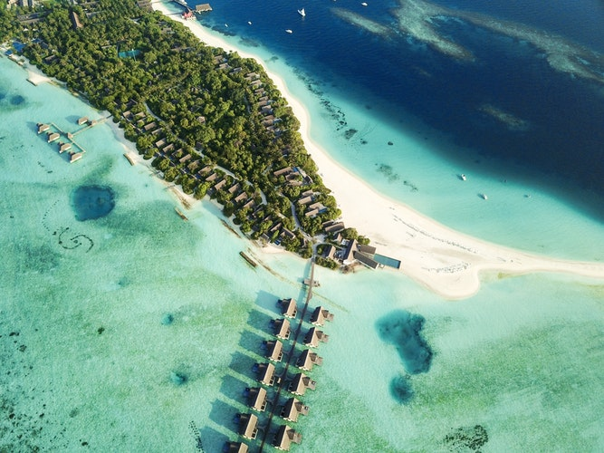 Maldivy – tyrkysové more a slamené domčeky!