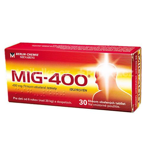MIG-400 – aby kĺby, svaly, hlava a zuby neboleli
