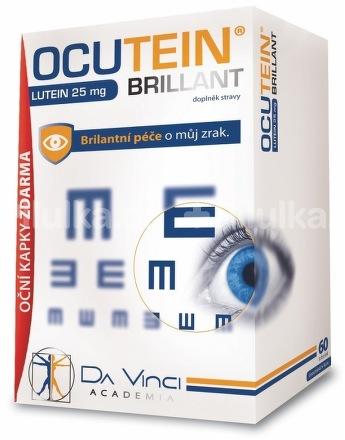 Ocutein brillant lutein – na zostrenie askvalitnenie zraku