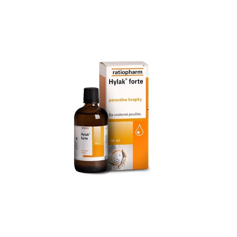 Hylak forte – kvapky, ktoré pomáhajú pri plynatosti, hnačkách…