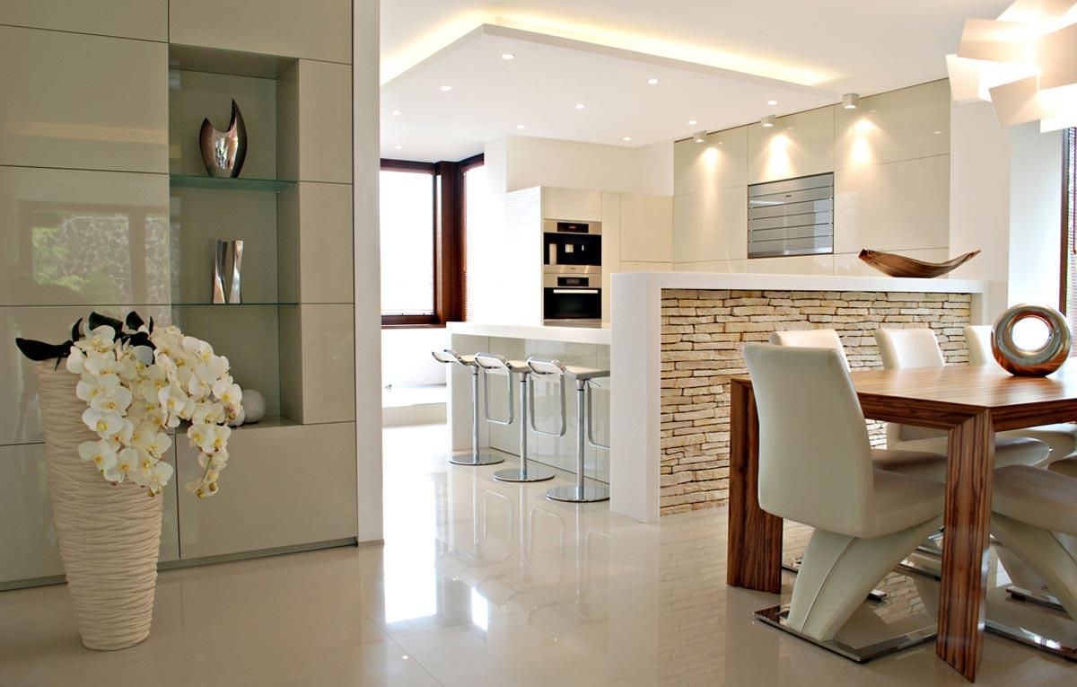 Krásna kuchyňa v jedinečnom priestore