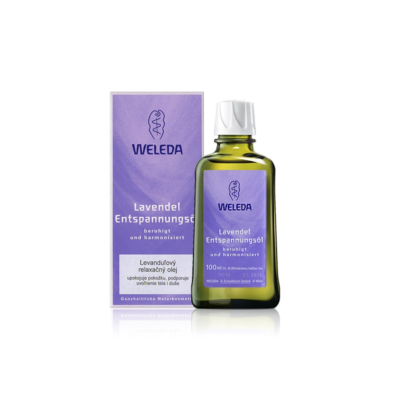 WELEDA Levanduľový relaxačný olej
