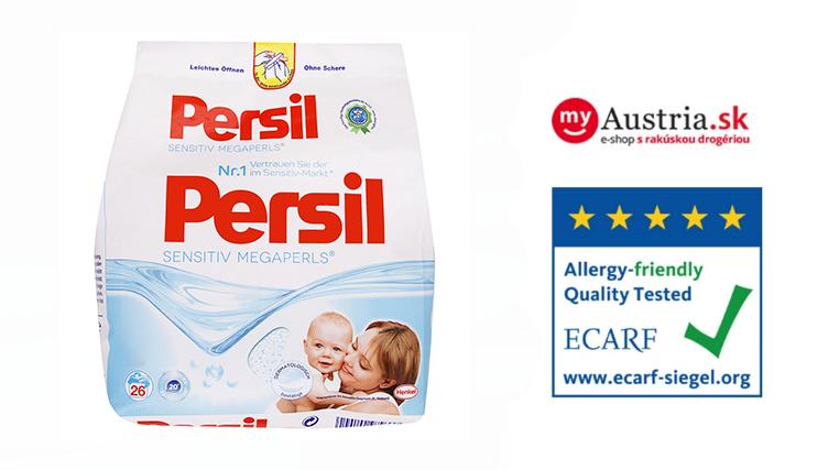 Vyskúšajte produkty Persil rakúskej kvality ako napríklad Persil Sensitive aďalšie