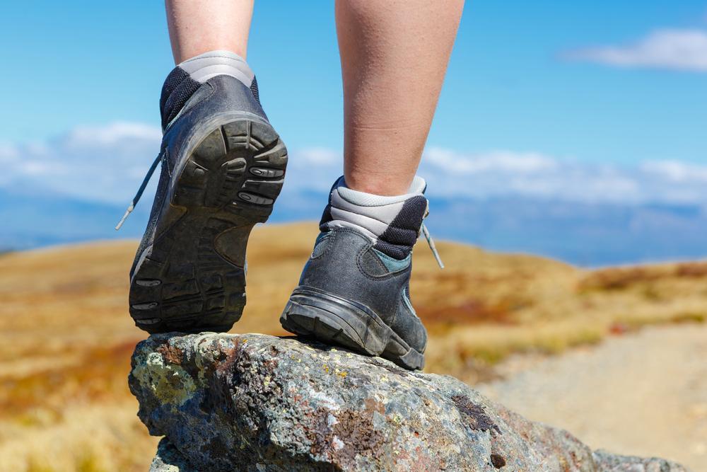 Štýlové topánky na turistické chodníky